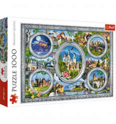 Puzzle 1000pz - Castles of the World (10583)