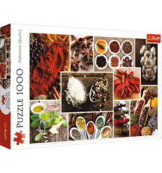 Puzzle 1000pz - Spices Collage (10470)