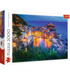 Puzzle 2000pz - Vernazza at Dusk (27086)