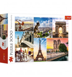 Puzzle 3000pz - Magic of Paris Collage (33065)