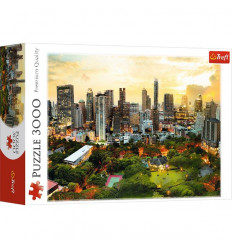 Puzzle 3000pz - Sunset in Bangkok (33060)