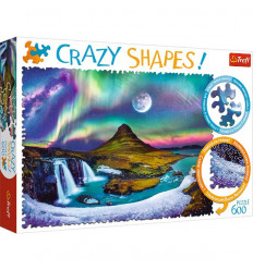 Puzzle Crazy Shapes! - Aurora Over Iceland (11114)