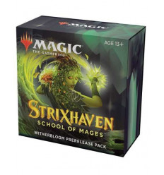 MTG - Strixhaven: School of Mages - PRERELEASE PACK - Germoglioscuro - IT