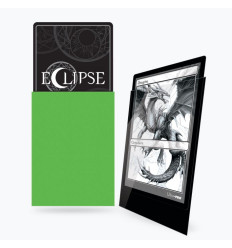 Ultra Pro - Standard Sleeves - Gloss Eclipse - Lime Green (100 Sleeves) (E-15606)