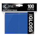 Ultra Pro - Standard Sleeves - Gloss Eclipse - Pacific Blue (100 Sleeves) (E-15602)