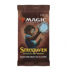 MTG - Strixhaven: School of Mages - Draft Booster - Bustina Singola - IT