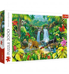 Puzzle 2000pz - Tropical Forest (27104)