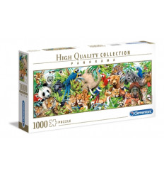 Puzzle 1000pz - High Quality Collection - Panorama - Wildlife (39517)