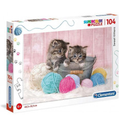 Puzzle 104pz - Sweet Kittens (27115)