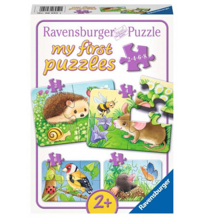 My First Puzzle 2-4-5-6 pz - Means of Hedgehog (06952)