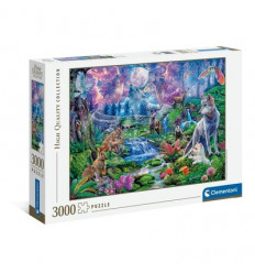 Puzzle 3000pz - High Quality Collection - Moonlit Wild (33549)