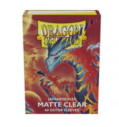 Dragon Shield - Matte Clear Cosmere (100 pz.) (AT-13352)