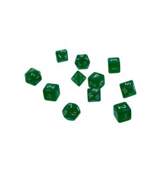 Ultra Pro - Dice Set Eclipse 11 - Forest Green (E-15565)