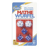 12 d6 16mm Gemini Black-Blue w/gold CHX 26635