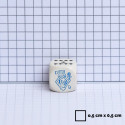 12 d6 16mm Speckled - Lotus CHX 25712