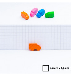 12 d6 16mm Speckled Fire CHX 25703