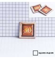 12 d6 16mm Speckled Hurricane CHX 25717