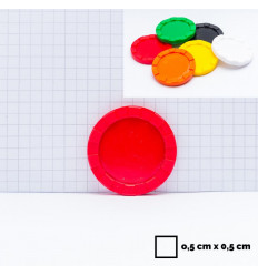 12 d6 16mm Vortex - Black w/yellow CHX 27638