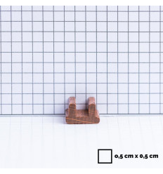 12 d6 16mm Vortex - Purple w/gold CHX 27637
