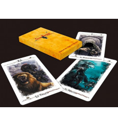 Set 10 d10 Dadi Vortex Red/Yellow CHX 27244
